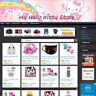 HELLO KITTY STORE - Online Affiliate Business Website Free .Com Domain + Hosting