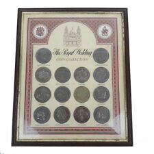 1981 The Royal Wedding Prince Charles & Diana 12 Crown Coin Collection