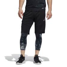 Adidas Training Men's 4KRFT Parley Black Shorts EJ8088 NEW
