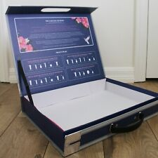 Empty Box of The Case Full Of Seoul Best Korean Skincare Blue Pink Briefcase