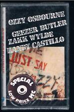 OZZY OSBOURNE JUST SAY OZZY BLACK SABBATH MC K7 MUSICASSETTA SIGILLATA!!!