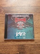 Slayer Concert CD Graspop Dessel Belgium 2019