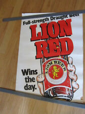 Lion Red Beer New Zealand poster