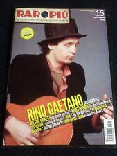 RAROPIU' 15 Magazine about discography RINO GAETANO ps poster GIORGIA