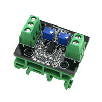 1Pcs Current to Voltage 4-20mA to 0-15V Isolation Transmitter Signal Converter