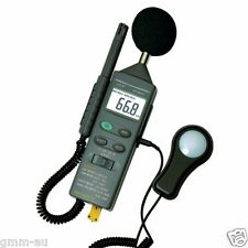 4-in-1 Environment Meter Sound Level Lux Light Humidity RH Temperature DT-8820