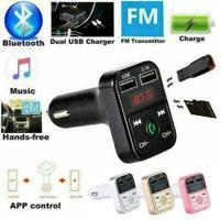 1 x Auto MP3-Player Freisprecheinrichtung Bluetooth FM Wireless LCD- Transm