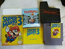 Super Mario Bros. 3 (Nintendo Entertainment System, 1990) Complete Tested manual