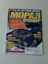 Mopar Muscle Magazine 1998 July Twin Turbo 1971 Hemi GTX Dakota 1964 Barracuda