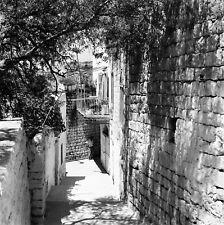 SAFED c. 1960 - Maisons Haut Lieu Kabbaliste Israël - Négatif 6 x 6 - ISR 64