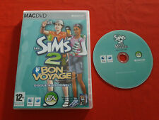 LES SIMS 2 BON VOYAGE DISQUE ADDITIONNEL ADD-ON MAC APPLE DVD EN BOITE VF