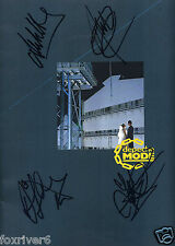 DEPECHE MODE Signed Tour Book Cover - Rock / Pop Indie Band - Preprint