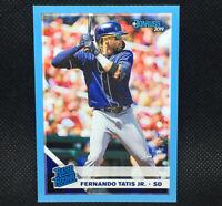 #/10! 🚨 2019 Donruss Fernando Tatis Jr RC Light Blue Rated Rookie Padres #254