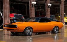 "Dodge Challenger muscle cars Hot rod Canvas Matte Archival 23"" x 33"""