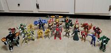 Power Rangers Lot - 21 figures - MMPR - Nice Shape!