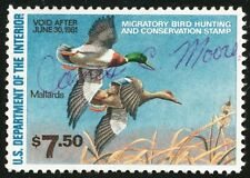 DR JIM STAMPS US DEPARTMENT OF INTERIOR DUCK SCOTT RW47 $7.50 USED NO RESERVE