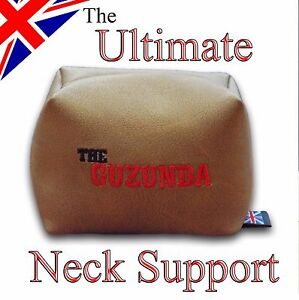 GUZUNDA - Luxury guitar neck rest & support - Luthier Beanbag - Strings & Set-up