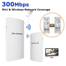 1Km(3200ft) 300Mbps 2.4G Outdoor WiFi Extender Router Wireless Access Point Cpe