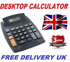 Brand New 8 Digit Desktop Calculator Jumbo Large Buttons Free delivery Uk