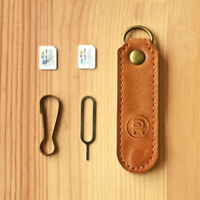 New Nano SIM Card Holder With Eject Pin Micro SD TF Memory Card Case Storage Bag