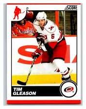 (HCW) 2010-11 Score Glossy #123 Tim Gleason Hurricanes Mint