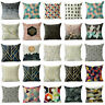 Abstract Geometric Linen Cushion Cover Throw 18inch Pillow Case Sofa Home Decor
