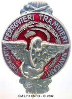 "Sindacato Comunista Ferrovieri Tramvieri Naviganti distintivo politico ""2632"""