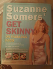 Suzanne Somers' Get Skinny on Fabulous Food Hardback and Dust Jacket