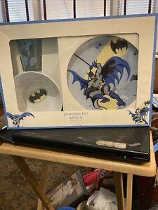 New Pottery Barn Kids Tabletop Dishes Tumbler Bowl D C Comics Batman Unused 2011