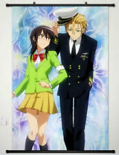 Home Decor Anime painting Wall poster Scroll Kaichou Wa Maid Sama Cosplay30*45cm