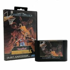 Super Real Basketball Boxed Sega Mega Drive Game USED