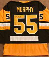 Larry Murphy Signed White Jersey - Pittsburgh Penguins Hall of Famer