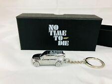 Official James Bond Land Rover Defender Keyring No Time To Die 007