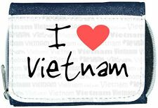 I love coeur Vietnam Denim Portefeuille