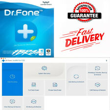 Wondershare Dr.Fone Toolkit for iOS and Android ✅Lifetime activated Version 10✅