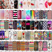 Fashion Pattern Hard Skin Case Cover Back Protector For Apple iPhone SE 4s 5s 6s