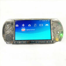 Refurbished Sony PSP 3000 Clear White Handheld System Very Good Condition
