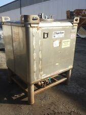 350 GAL SNYDER TOTE, 316 S/S (47877)