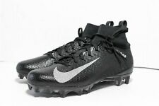 NIKE VAPOR UNTOUCHABLE PRO 3 SIZE 9.5 FOOTBALL CLEATS BLACK/ SILVER 917165-009