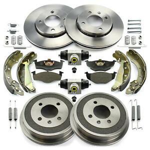 Brake Discs Pads Brake Drums Wheel Cylinder Brake Shoes Seat Arosa VW Lupo