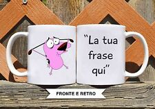 Tazza ceramica LEONE CANE FIFONE 5 FRASE PERSONALIZZATA  ceramic mug