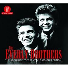 THE EVERLY BROTHERS - THE ABSOLUTELY ESSENTIAL 3CD COLLECTION 3 CD NEUF