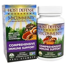 Fungi Perfecti  Mushrooms  MyCommunity  Comprehensive Immune Support  30 Veggie