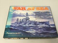 Vintage WAR AT SEA Avalon Hill Naval Strategy Board Game