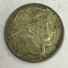 Belgium 1950 Silver 20 Franc Coin