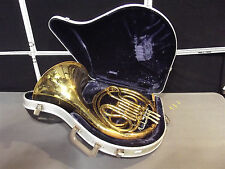 King French Horn~No Mouth Piece~Tested By Baritone Player To Play Good~S2873