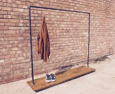 INDUSTRIAL CLOTHES RAIL ' BLACK  LILY '