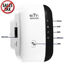 Wifi Network Extender Internet Repeater Wireless Range Booster Signal Amplifier