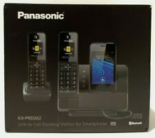 PANASONIC KX-PRD262 Link-to-Cell Digital Phone Smartphone Integration 2 Handsets