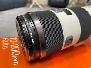 Sony 70-200 f2.8 G SSM lense EUC SAL70200 A-mount